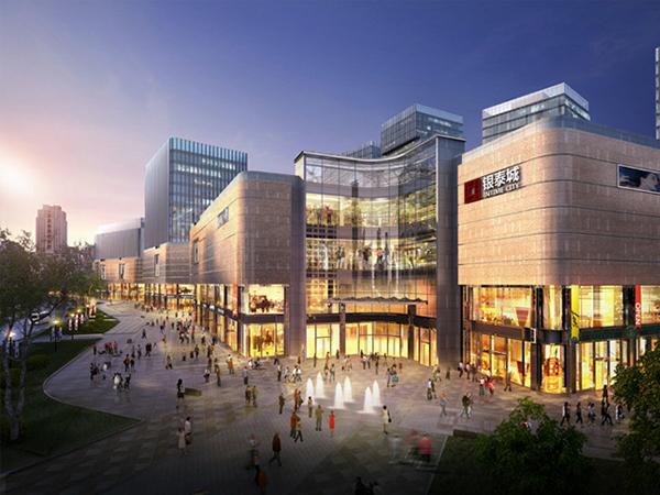 杭州银泰城应用无机真空保温板工程案例