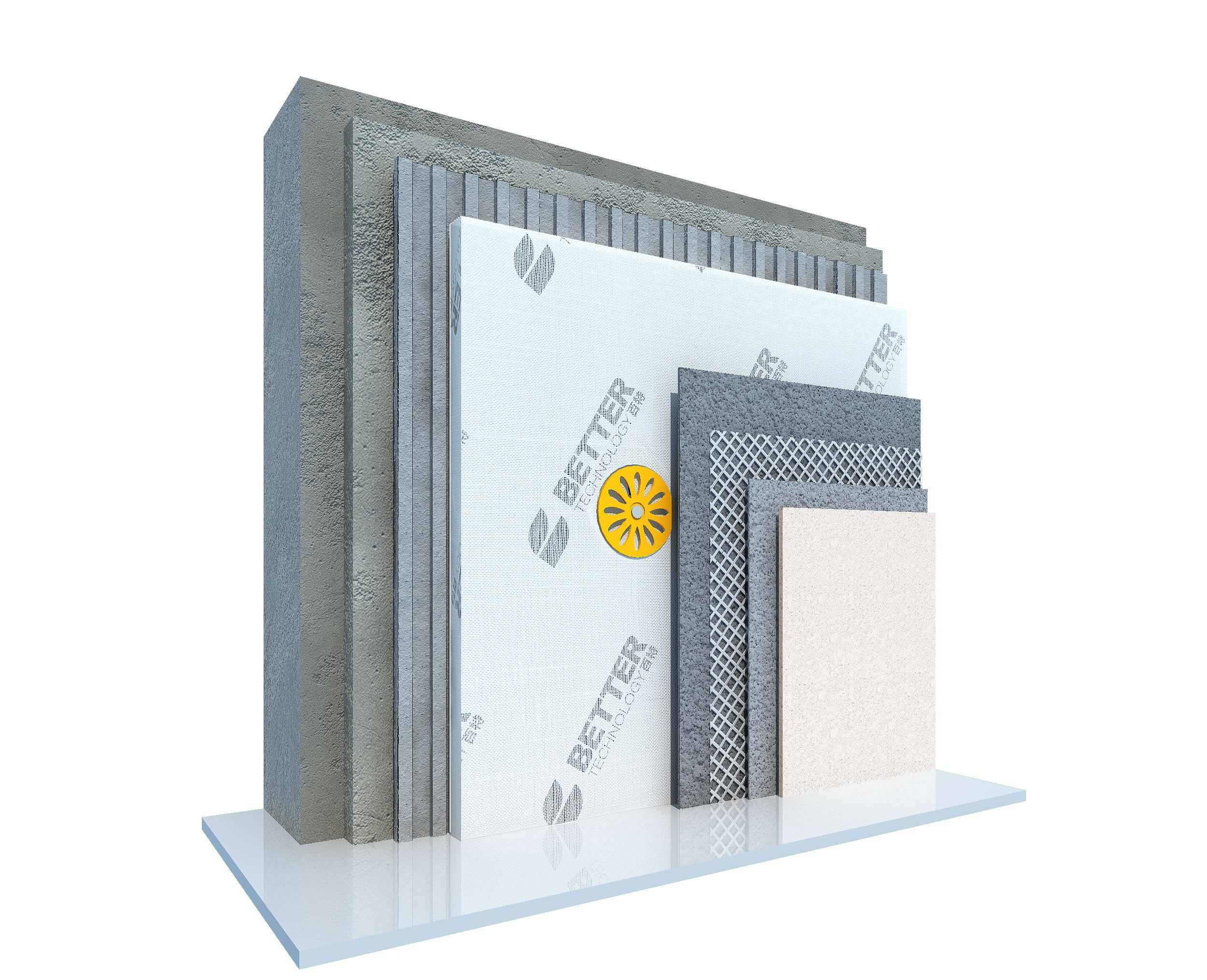 真空绝热板薄抹灰外墙外保温系统施工流程简介
