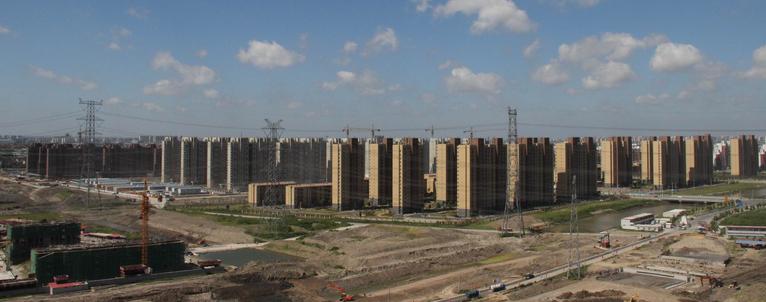 上海农工商祝桥安置房应用AB无机纤维真空保温板工程案例