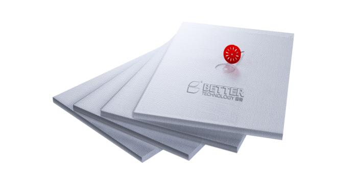 无机纤维真空保温板及其外保温系统