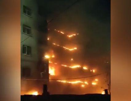 郑州一小区外墙起火,已不是今年第一起