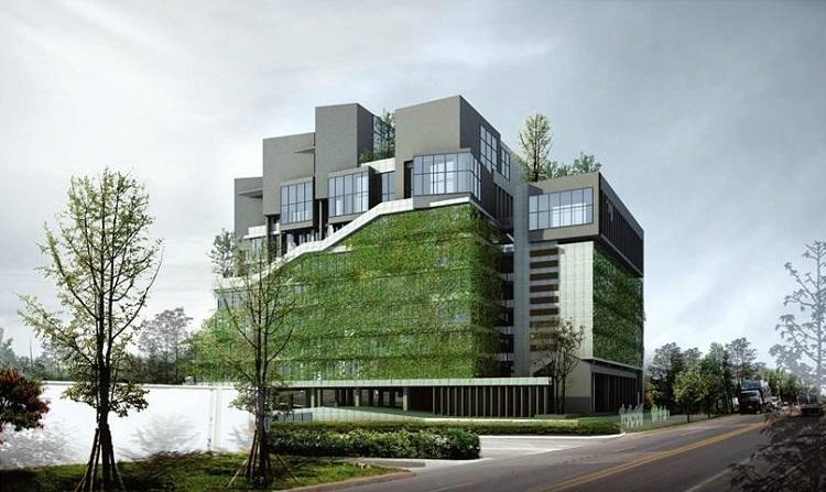 超低能耗建筑墙体的保温做法